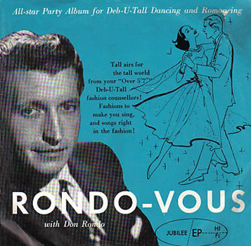 Don Rondo - There's Only You / Forsaking All Others